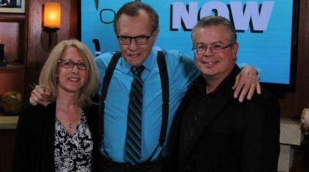 Robert Greenberg and Nanci Tucker with Larry King | OraTV